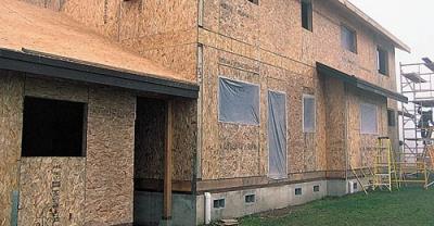 Как увеличить площадь готового дома?